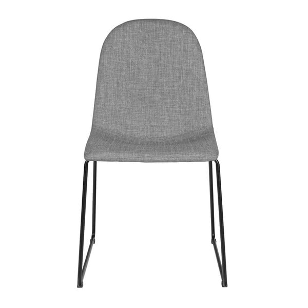 Sada 2 šedých židlí Cooper Grey