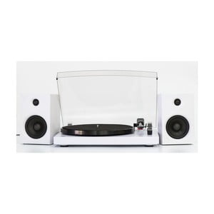 Bílý gramofon GPO Picadilly White