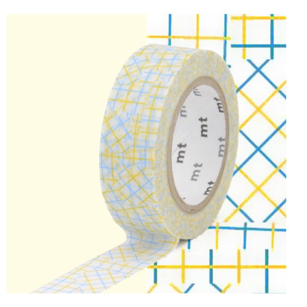 Washi páska MT Masking Tape Cecile, návin 10 m