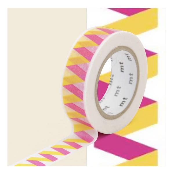 Taśma dekoracyjna washi MT Masking Tape Danielle, dł.10m