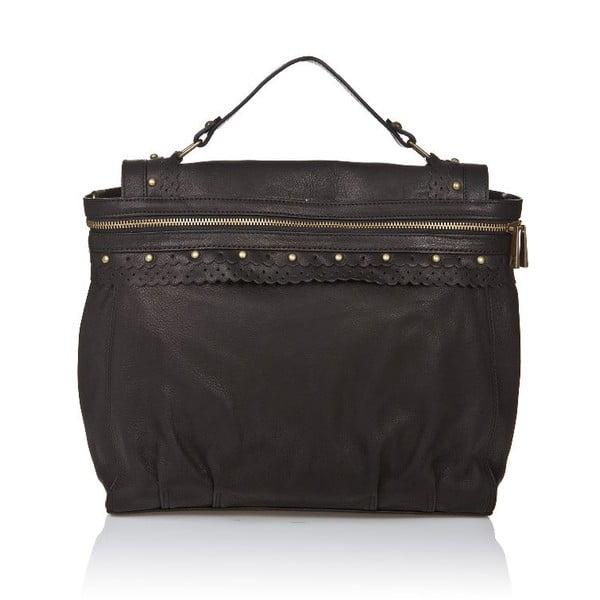 Kožená kabelka Markese 6403 Black