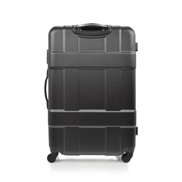 Sada 3 černých cestovních kufrů na kolečkách Hero Taylor