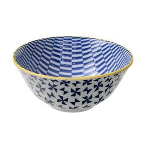 Porcelánová miska Geo Tayo Blue, 15,2x6,7 cm