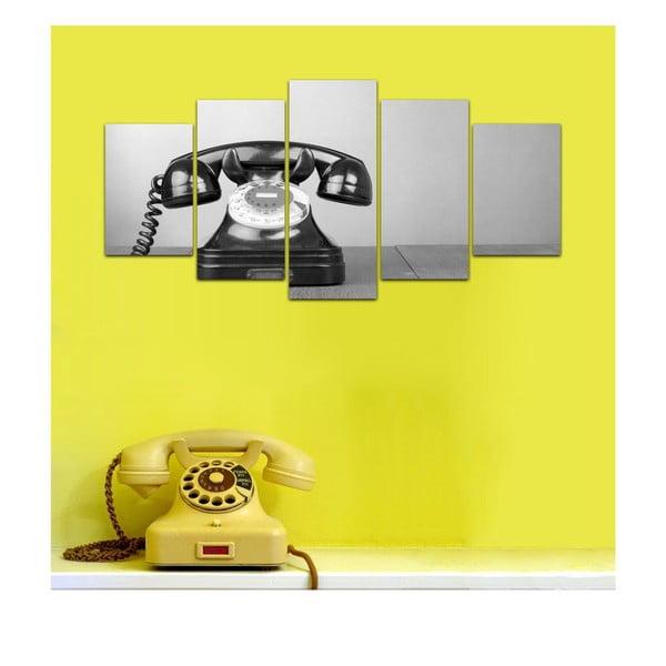 Vícedílný obraz Black&White no. 52, 100x50 cm