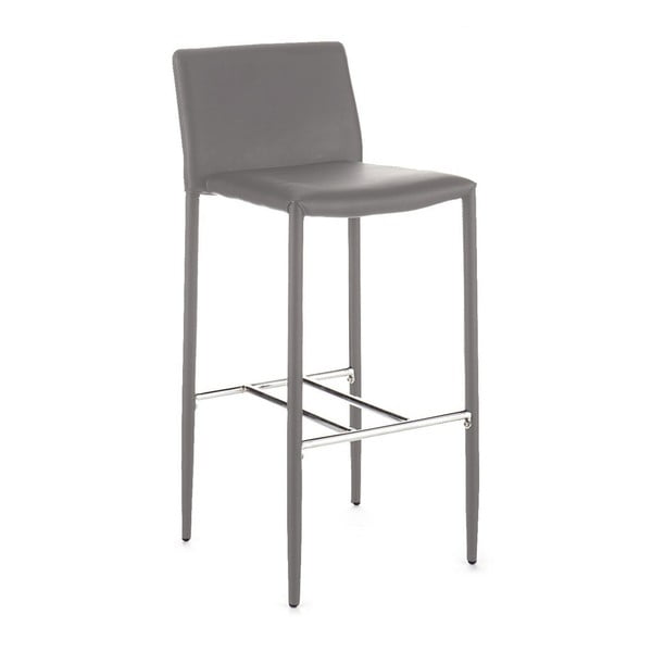 Sada 2 šedých barových židlí Tomasucci Lion