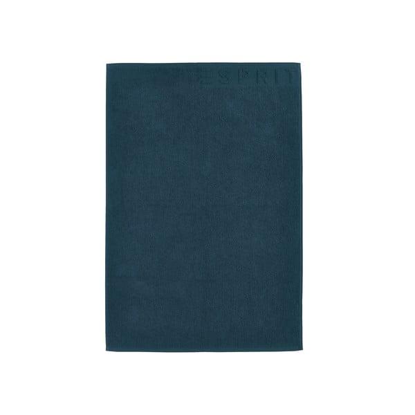 Koupelnová předložka Esprit Solid 60x90 cm, jeansově modrá