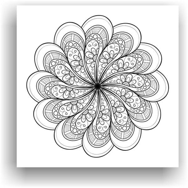 Obraz k vymalování Color It no. 95, 50x50 cm