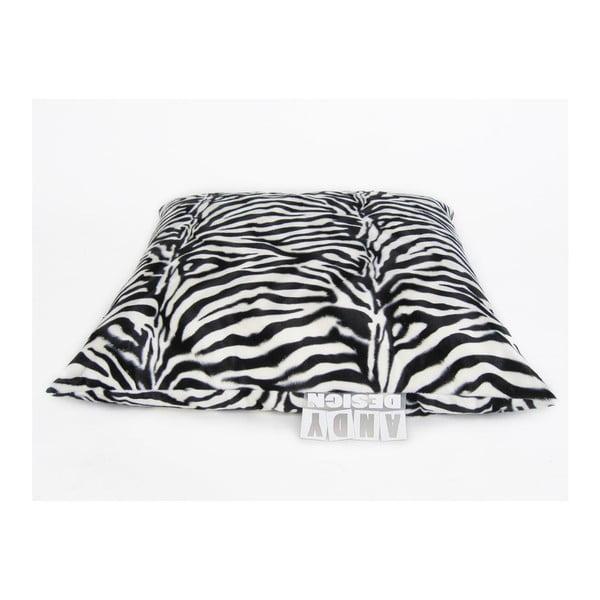 Sedací vak Polštář, velký (zebra)
