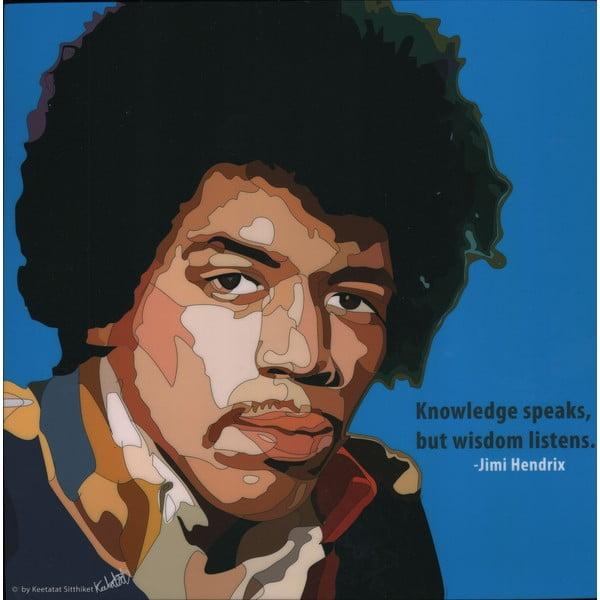 Obraz Jimi Hendrix - Knowledge speaks