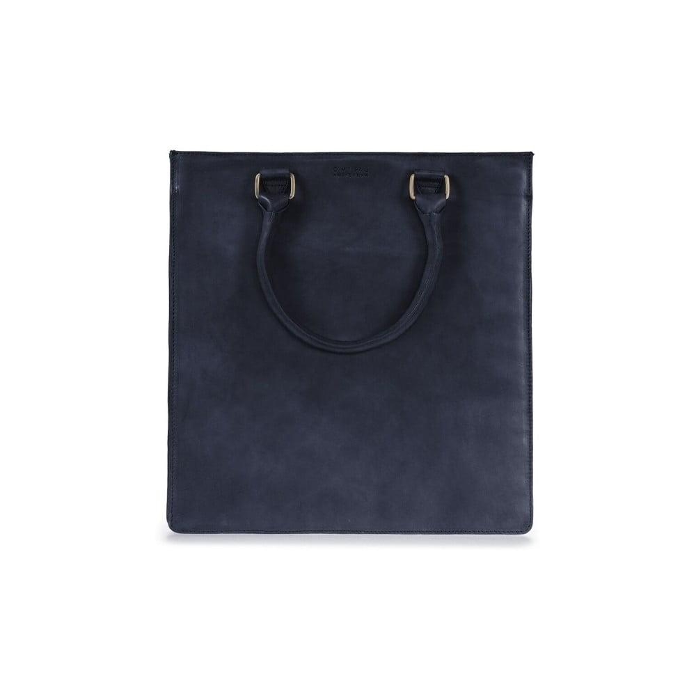 Černá kožená kabelka do ruky O My Bag Mila