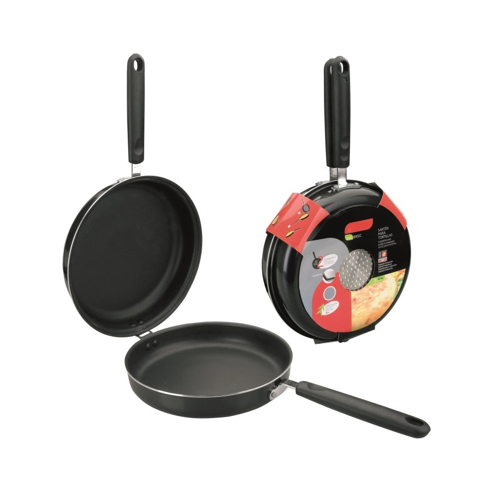 Otáčecí pánev na omeletu vhodná na indukci Top5star, ⌀ 28 cm