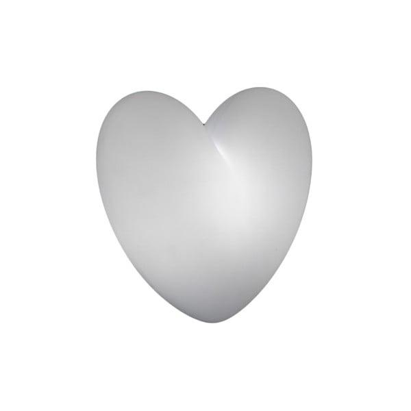 Nástěnná lampa Love, bílá