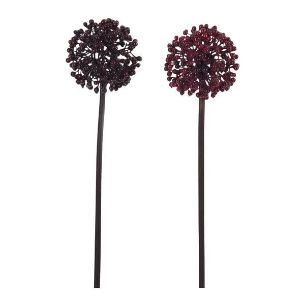 Sada dvou kusů umělých květin
