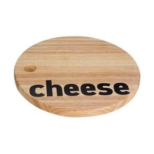 Servírovací prkénko na sýr Premier Housewares Mono, ⌀ 26 cm