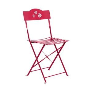 Červená skládací židle Butlers Daisy Jane