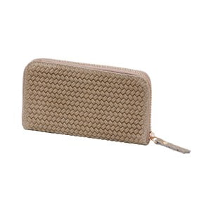 Béžová peněženka z pravé kůže Andrea Cardone Cahlia