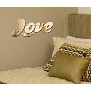 Dekorativní zrcadlo Love Sign