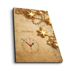 Tablou cu ceas Christmas no. 2,45x70cm