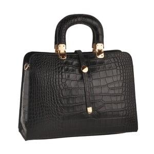 Černá kožená kabelka Ore Diece Alzavola