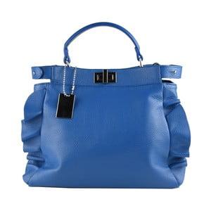 Modrá kožená kabelka Matilde Costa Zeri