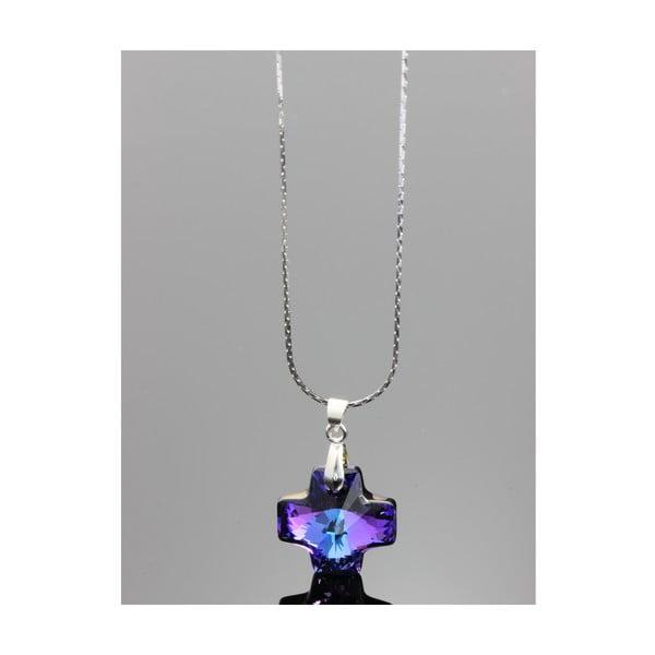 Náhrdelník Swarovski Elements Helliotrop Diamond