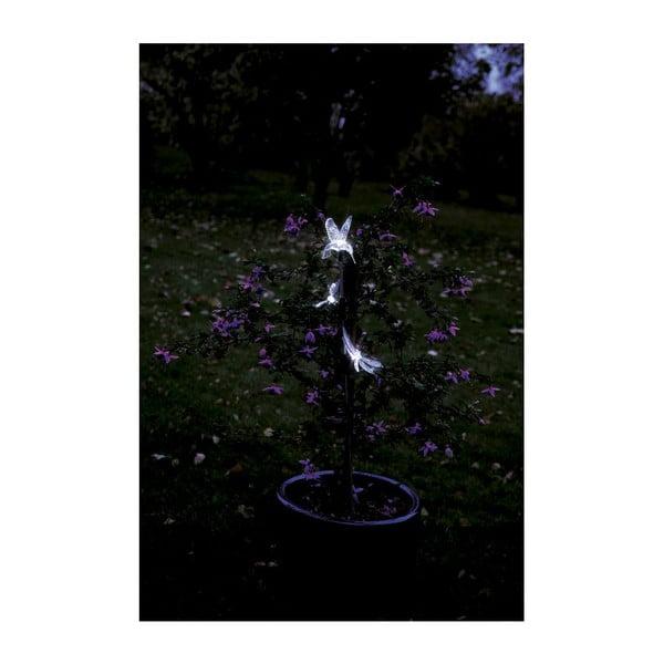Zapichovací LED dekorace na zahradu Hummingbird, 95 cm