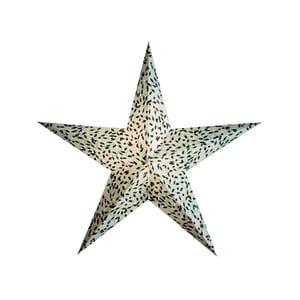 Dekorativní vánoční hvězda Holly White