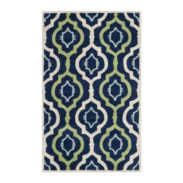 Vlněný koberec Safavieh Mykonos, 152 x 91 cm