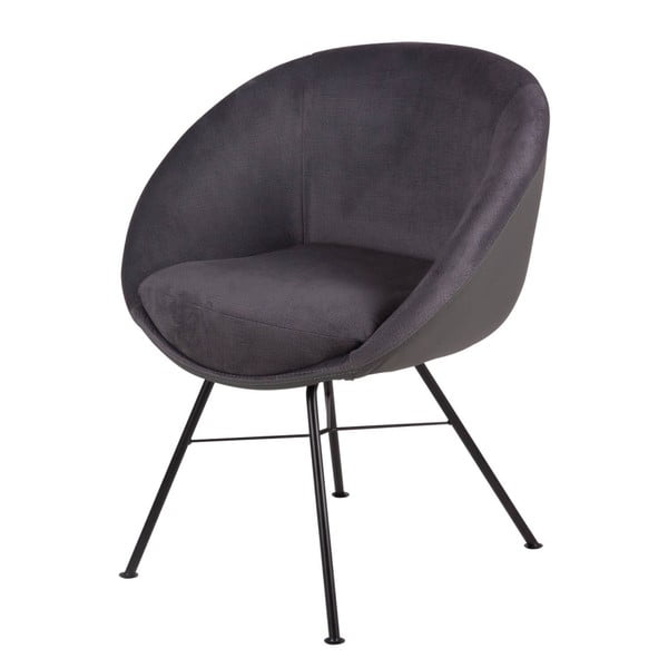 Tmavě šedá židle sømcasa Alexa