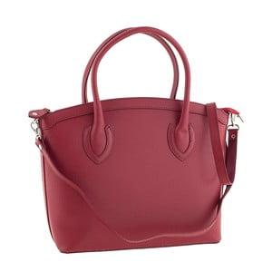 Kožená kabelka Ninety Red