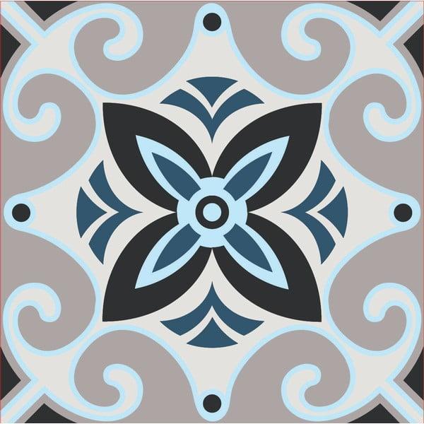 Samolepky Tile Art Grey Ornament