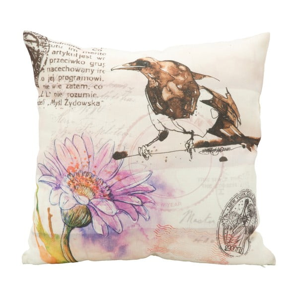 Bird Alessia párnahuzat, 40 x 40 cm - Mauro Ferretti
