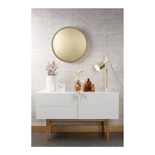 Oglindă Zuiver Bandit, Ø 60 cm, auriu