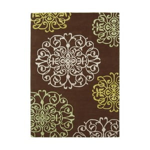 Vlněný koberec Tangier Brown 120x170 cm