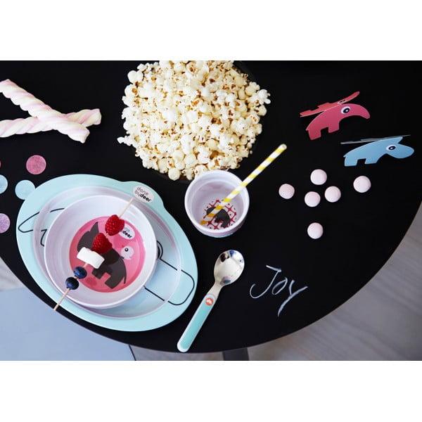 Jídelní dětský set Zoopreme, modrý