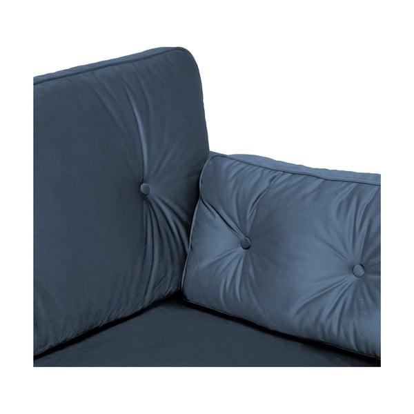Námořnicky modrá 2místná sedačka Vivonita Portobello