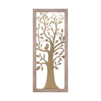 Decorațiune pentru perete Mauro Ferretti Tree, 40x100cm, auriu de la Mauro Ferretti