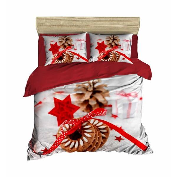 Miguel karácsonyi, kétszemélyes ágyneműhuzat lepedővel, 200 x 220 cm