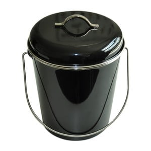 Kovová dóza Waterquest, černá
