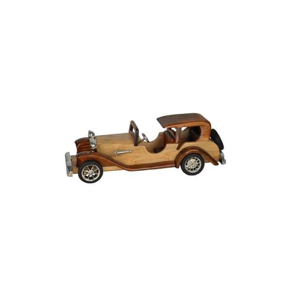 Dřevěná dekorativní replika Car