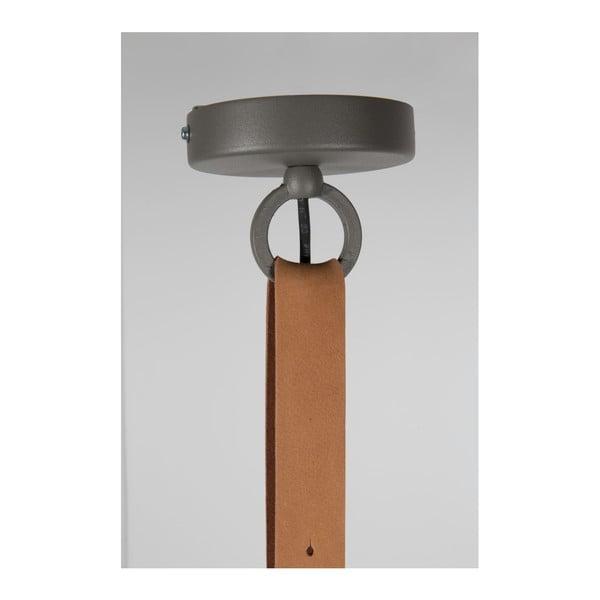 Šedé stropní svítidlo Zuiver Dek, Ø51cm