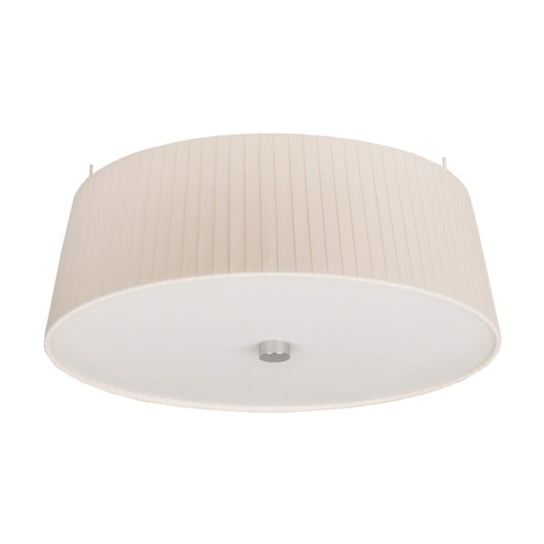 Kremowa lampa sufitowa Sotto Luce KAMI,Ø36cm
