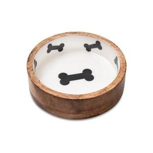 Bol din lemn pentru câini Marendog Bowl, ⌀ 13 cm