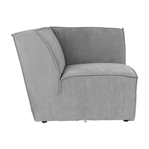 Modul colț pentru canapea Zuiver James, gri deschis