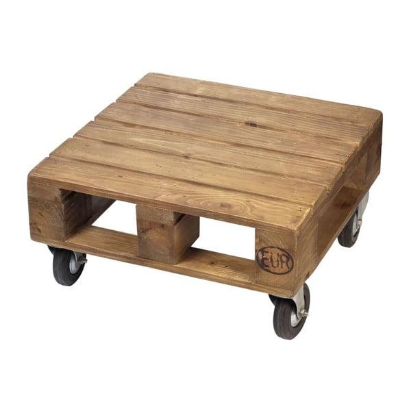 Odkládací stolek na kolečkách Wood Pallet