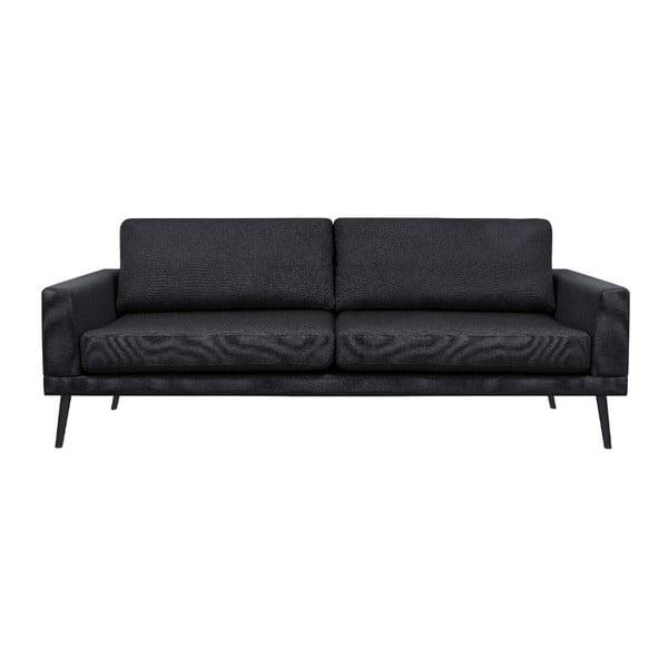 Černá trojmístná pohovka Windsor & Co Sofas Rigel