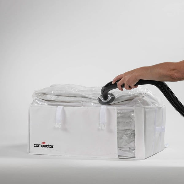 Vakuový skladovací box Compactor White