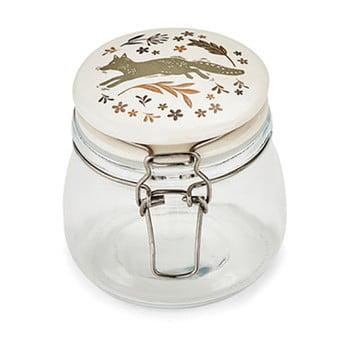 Borcan din sticlă cu capac din ceramică Cooksmart Woodland, 500 ml de la Cooksmart ®