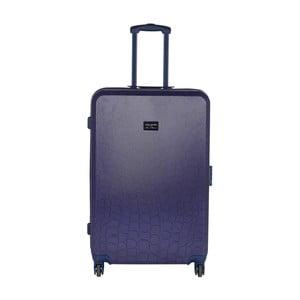 Tmavě modrý cestovní kufr LULU CASTAGNETTE Willy, 71l