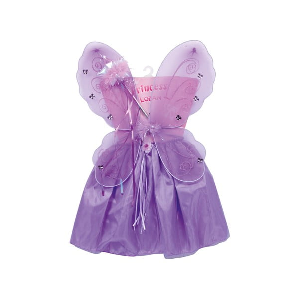 Fialový detský kostým Legler Lili